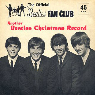 Beatles Fan Club Christmas Records